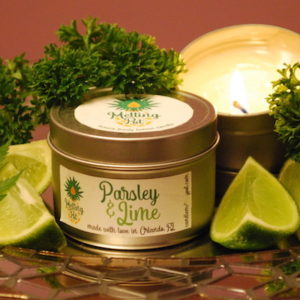 Parsley & Lime CBD Candle