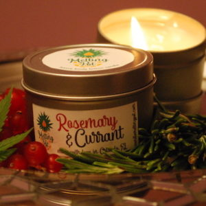 Rosemary & Currant CBD Candle